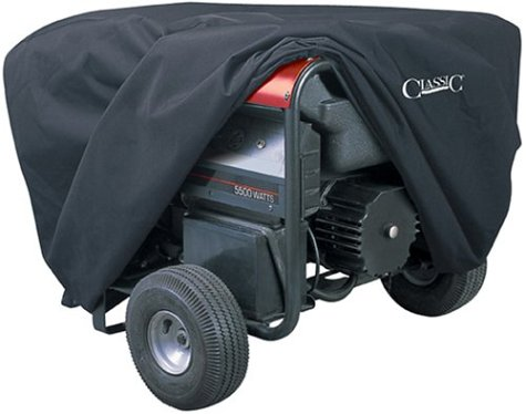 Classic Accessories 79527 Generator Cover, Medium, Black