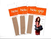 The ORIGINAL INVISIBLE Non Slip Purse Strap and Shoulder Bag Grip Accessory Size Small***3 Pack Special
