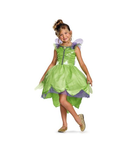 Disney Fairy Tinker Bell Girls Costume Birthday Present for Girls