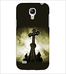 PrintDhaba Cross D-2179 Back Case Cover for SAMSUNG GALAXY S4 MINI (Multi-Coloured)