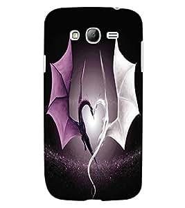 ColourCraft Beautiful Dragon Heart Design Back Case Cover for SAMSUNG GALAXY GRAND Z I9082Z