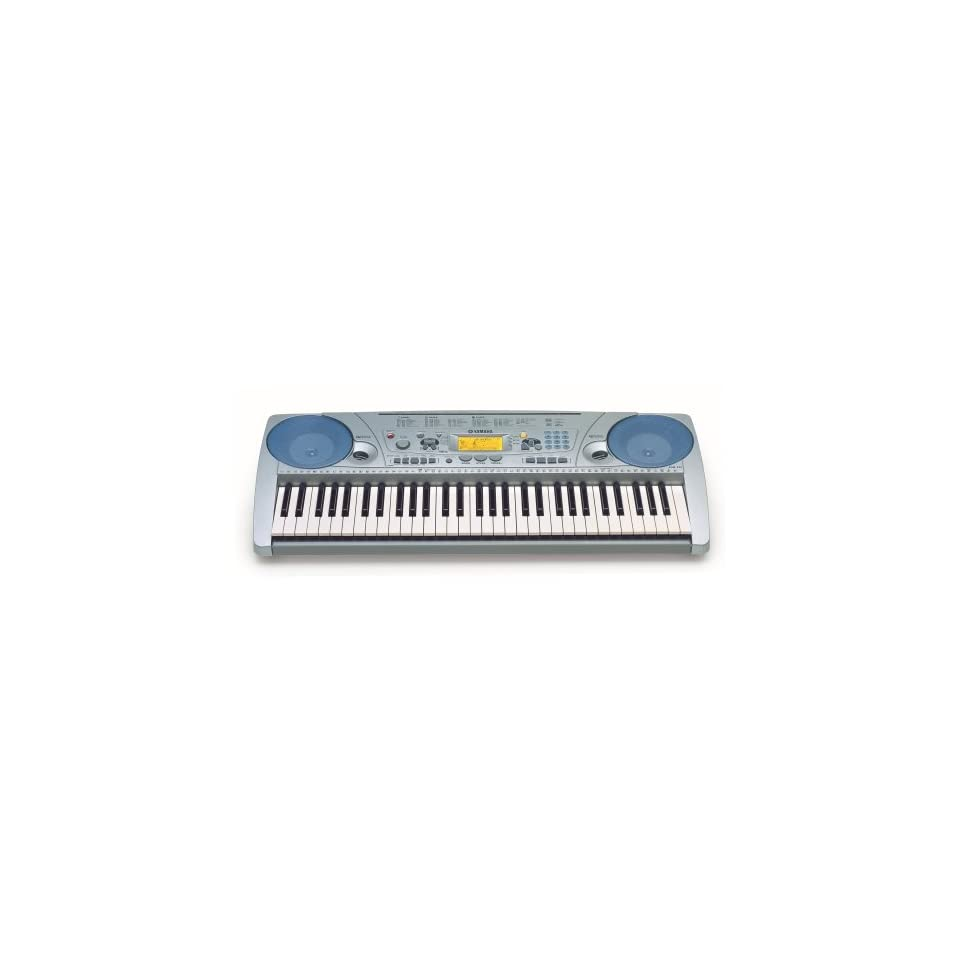 Yamaha PSR275MS Portable Keyboard with 61 Full Size Touch Sensitive Keys with Stand and Adapter
