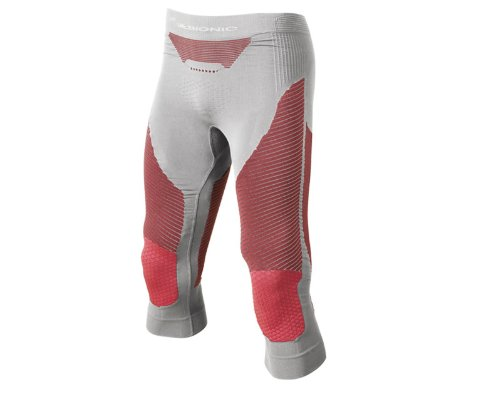 X-Bionic Ski Touring Pants Men medium xI20156, pearl grey/red