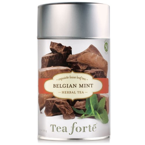 Tea Forte Loose Leaf Tea Canister-Belgian Mint
