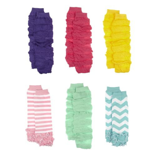 Toddler Girl Leggings - Suri'S Colorful Legwarmers Set Of 6 front-310476