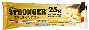 NuGo Stronger Peanut Cluster, 2.82 Ounce (pack Of 12)