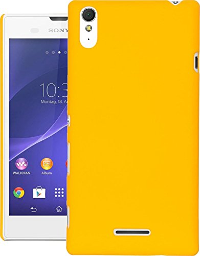 DR Chen Xperia T3 D5102 Back Cover, Back Cover for SONY Xperia T3 D5102 Yellow  available at amazon for Rs.199