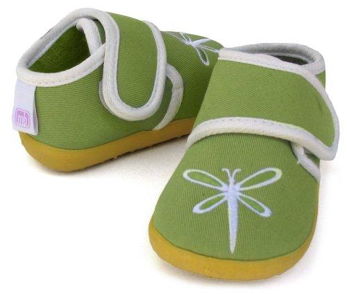 Modern Basics Baby Slipper - Medium Green Dragon Fly