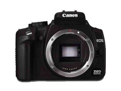 Canon EOS 350D Digital SLR Camera - Body Only [8MP]