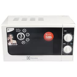 Electrolux G20M.WW-CG 20-Litre 1200-Watt Grill Microwave Oven (White and Black)