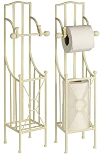 Free Standing Freestanding Toilet Roll Holder Stand