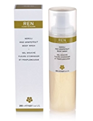 REN Neroli & Grapefruit Body Wash 200ml