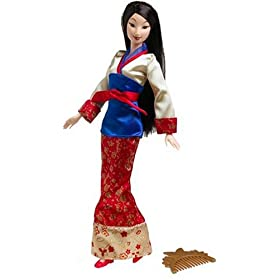Disney Princess Blossom Beauty Mulan Doll: $29.95