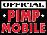 Licenses Products Official Pimp Mobile Sticker by C&D Visionary Inc.