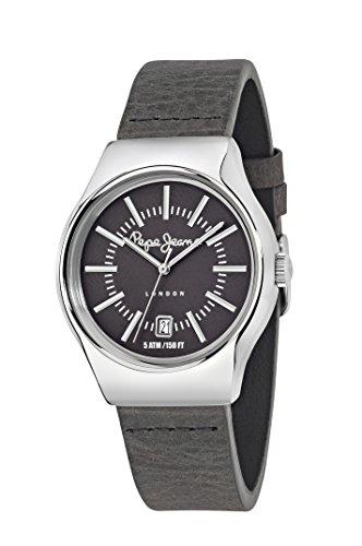 Pepe Jeans Joey orologio al quarzo da uomo con inserti grigi display analogico quadrante grigio e cinturino in R2351113001