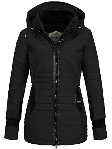 Khujo-Giacca da donna giacche midd antracite XX-Large