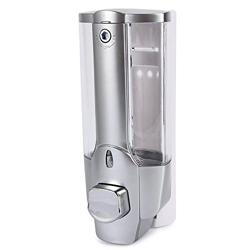 YUFENG 350ml Wall Mount Shower Bath Soap Shampoo Dispenser with a Lock for Bathroom Washroom (Soap Dispenser Shower Head compare prices)
