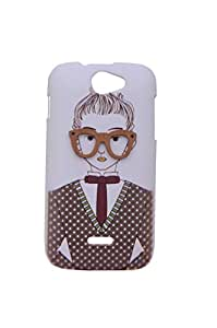 GENERIC PREMIUM 3D SPECTS SERIES BACK CASE COVER FOR MICROMAX A47