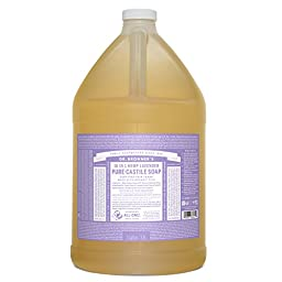 Dr. Bronner\'s Fair Trade & Organic Castile Liquid Soap - (Lavender, 1 Gallon)