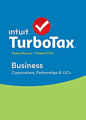 TurboTax Business 2015 Federal + Fed Efile Tax Preparation Software