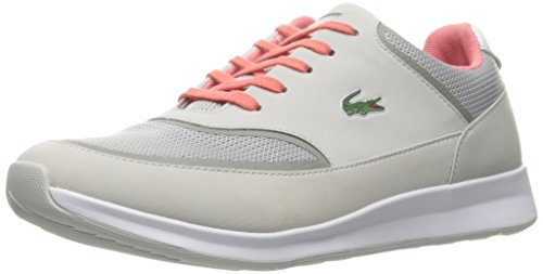 Lacoste Women's Chaumont Lace 316 2 Spw Lt Gry Fashion Sneaker, Light Grey, 7.5 M US