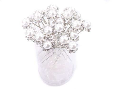 adecco-llc-white-faux-pearl-crystal-flower-hair-pins-ideal-for-bridal-party-bridesmaids-proms-pagean