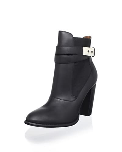 Elizabeth and James Women's Solar Ankle Boot  - Black Leather