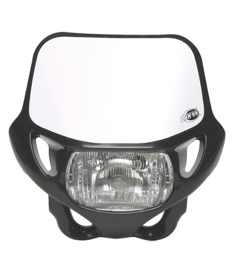 HEADLIGHT-CE/DOT CERT BLACK – ACERBIS -