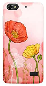 TrilMil Printed Designer Mobile Case Back Cover For Huawei Honor 4C