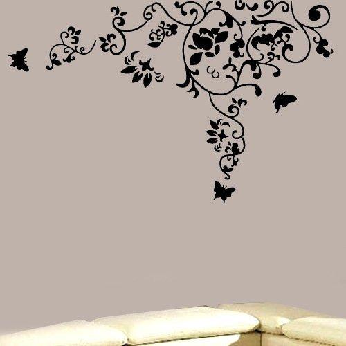 Modern House Cute Animal Family removable Vinyl Mural Art Wall Sticker Decal