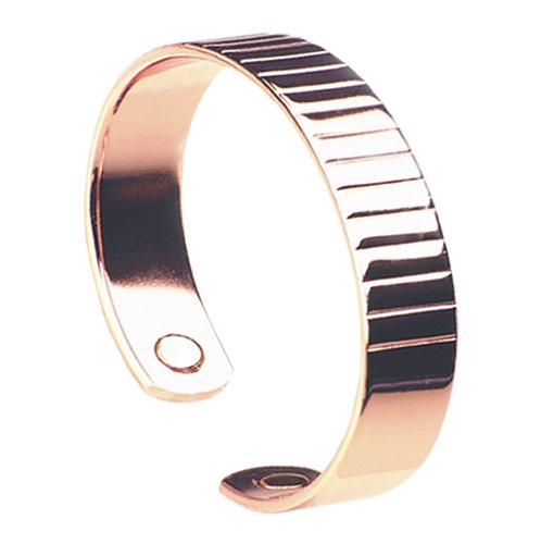 Magnetic Copper Bangle: Ribble