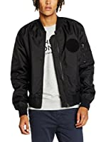 Cheap Monday Chaqueta Rank Bomber (Negro)