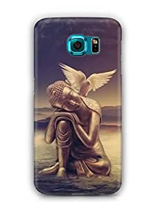 Cover Affair Buddha Printed Back Cover Case for Samsung Galaxy S7