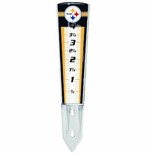 NFL Pittsburgh Steelers Rain Gauge at Amazon.com