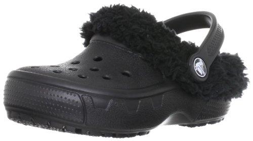 crocs Kids' Mammoth EVO Clog (Toddler/Little Kid),Black/Black,J3 M US Little Kid
