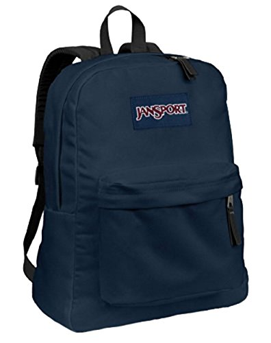JANSPORT SUPERBREAK BACKPACK SCHOOL BAG - Navy Blue