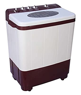 Kelvinator KS7253DM-FAU Semi-automatic Top-loading Washing Machine (7.2 Kg, Maroon)