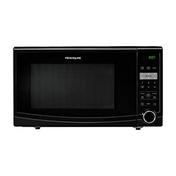 Frigidaire FFCM1134L 1.1 Cubic Foot Countertop Microwave Oven with Easy-Set Start and Ready-Select Co, Black