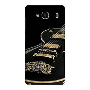 Delighted Music Guitar Back Case Cover for Redmi 2