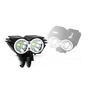 Foxnovo SolarStorm 2 CREE XM-L U2 4-Mode 5000LM Waterproof LED Bicycle Light Lamp... by Foxnovo