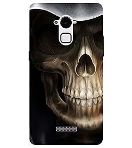 Chiraiyaa Designer Printed Premium Back Cover Case for Coolpad Note 3 (skull skeleton danger) (Multicolor)