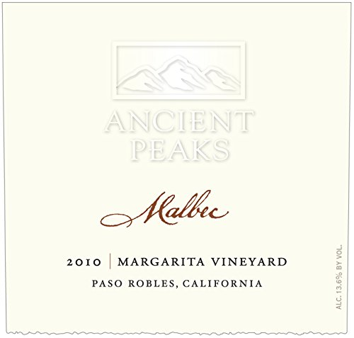 2010 Ancient Peaks Malbec Paso Robles 750Ml