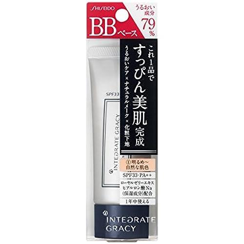 [맨즈 남성용 BB크림] 통합(integrate) 그레이시 에센스 베이스 BB 1 밝아져라~자연스러운 피부색 (SPF33・PA++) 40g-52170