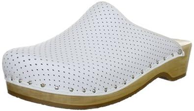 Berkemann Standard-Toeffler 00400-100 Unisex-Erwachsene Clogs & Pantoletten, Weiß (weiß 100), EU 36 1/3(UK 3.5)