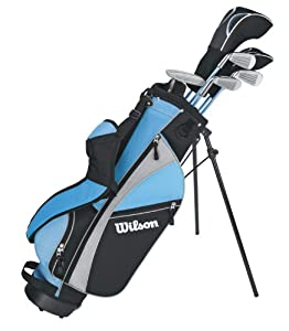 Wilson Profile Complete 6-Piece Package Set (Junior, Girl's, Right-Hand, Ages 10-13)