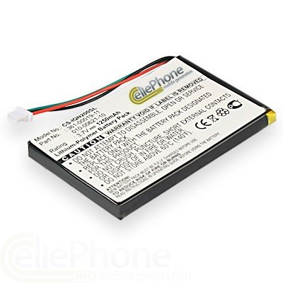 cellePhone Akku Li-Polymer f&#252;r Garmin N&#252;vi 200 250 260 270 465 465T 1400 1450 1490 1490T (ersetzt ED38BD4251U20)