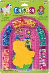 Perler Beads Fuse Bead Activity Kit Princess Magic 559-74; 2 Items/Order