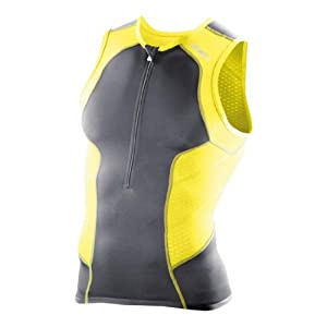 2XU Mens Performance Tri Singlet by 2XU