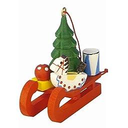 10-0433 - Christian Ulbricht Ornament - Toys on Sled - 2\