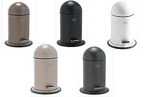 Ona pedal bin dark grey simple and stylish bathroom easy for Grey bathroom bin
